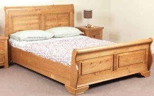 Pacino Oak Pine Bed